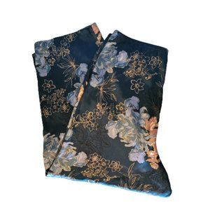 FLORAL WIDE LEGGED HOUSE LOUNGING PANTS